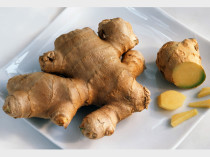 Plate of Root Ginger